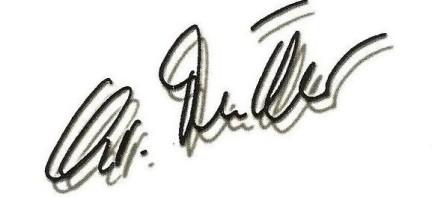 Zum Neustart die Unterschrift