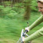 Nachhaltig gesund zeigt Christinne Gesundheit zeigt Christine auf dem Rad