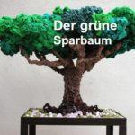Secondhand grüner Sparbaum