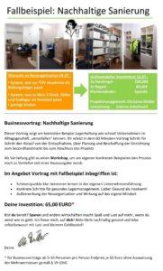 Vortrag Nachhaltige Sanierung
