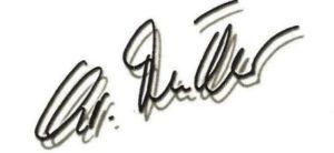 Unterschrift Christine Müller