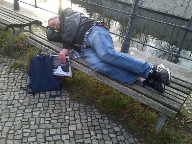 Obdachlose sind CO2-Sparweltmeister