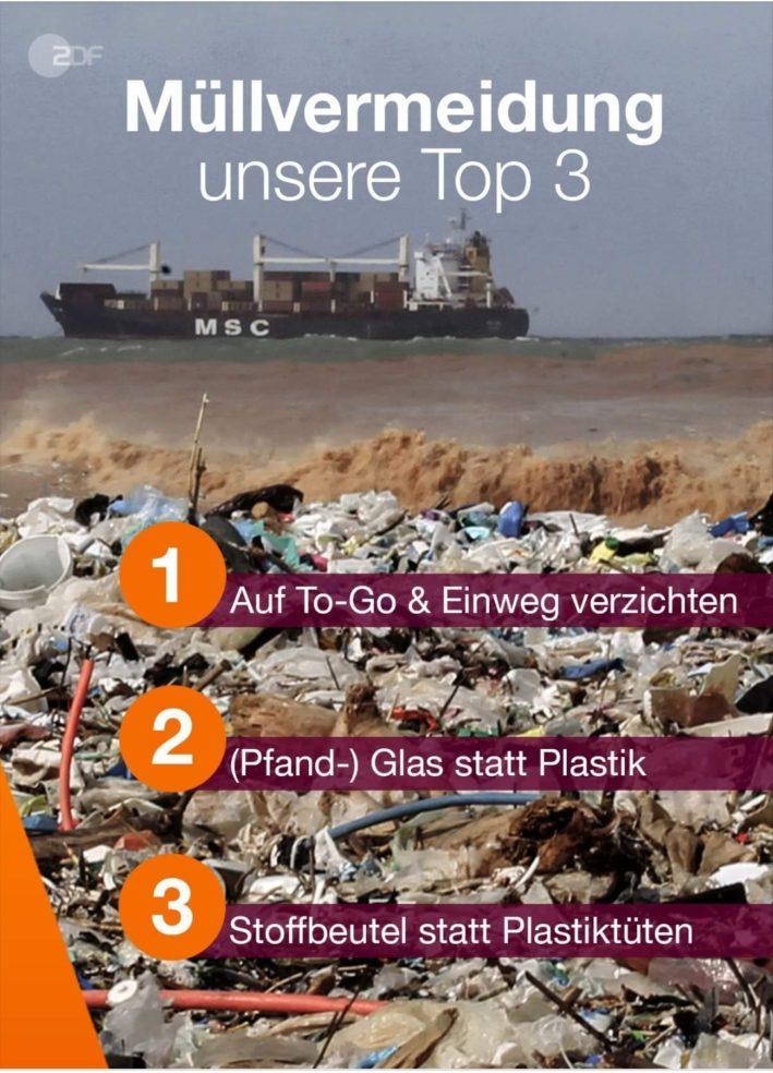 Clever Haushalten Top 3 der Müllvermeidung