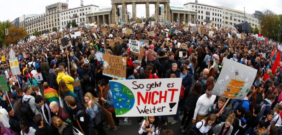 Viel für wenig Klimademonstration 2019 in Deutschland
