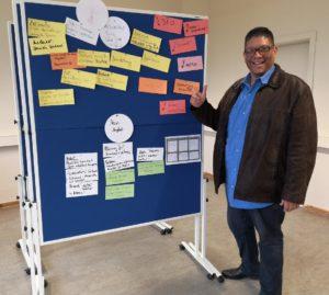 Über mich Präsentation Gründungsidee Ulianov Nino Delgado