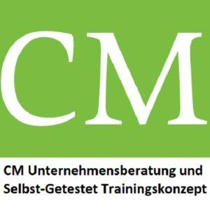 Logo CM mit Ikon