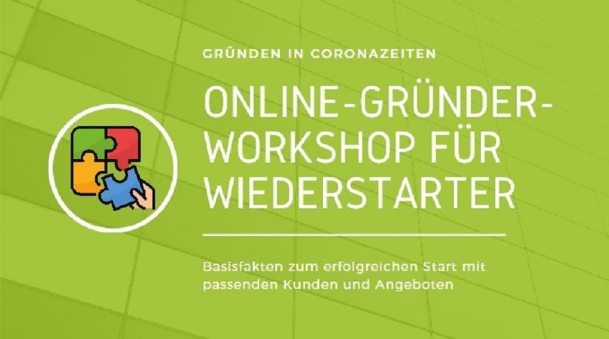 online Gründerworkshop für Wiederstarter
