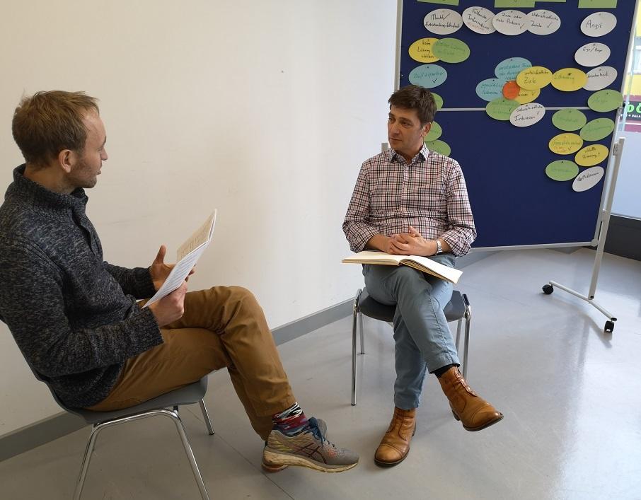 Konflikte lösen Gesprächssituation 2